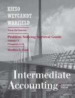 Intermediate Accounting: Intermediate v. 1, chapters 1-14 : Problem Solving Survival Guide - Fred Pries