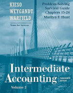 Intermediate Accounting : Problem Solving Survival Guide v. 2, Chapters 15-24 - Fred Pries