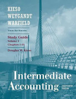 Intermediate Accounting: v. 1 : Study Guide - Fred Pries