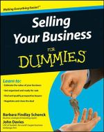 Selling Your Business For Dummies - Barbara Findlay Schenck