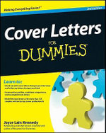 Cover Letters For Dummies, 3rd Edition : For Dummies (Lifestyles Paperback) - Joyce Lain Kennedy