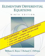 Elementary Differential Equations : Wiley e-Text Card - William E Boyce