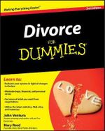Divorce For Dummies, 3rd Edition - John Ventura