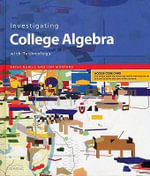 Investigating College Algebra with Technology : Key Curriculum Press - Kathy Burgis