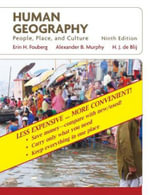 Human Geography People, Place, and Culture 9E Binder Ready Version : People, Place, and Culture, 9th Edition Binder Ready Version - H.J. de Blij