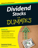 Dividend Stocks For Dummies - Lawrence Carrel
