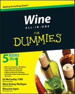 Wine All-In-One For Dummies : For Dummies - Consumer Dummies