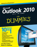 Outlook 2010 All-in-One For Dummies : For Dummies - Jennifer Fulton