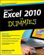 Excel 2010 For Dummies : For Dummies (Lifestyles Paperback) - Greg Harvey