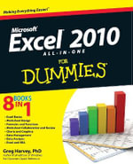 Excel 2010 All-In-One For Dummies : For Dummies - Greg Harvey