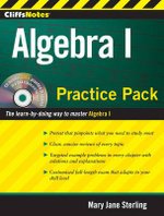 CliffsNotes Algebra I Practice Pack : Practice Pack - Mary Jane Sterling