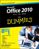 Office 2010 All-In-One For Dummies : For Dummies (Lifestyles Paperback) - Peter Weverka