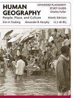 Human Geography : People, Place, and Culture AP Study Guide - Erin H. Fouberg