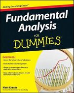 Fundamental Analysis For Dummies - Matt Krantz