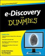E-Discovery For Dummies - Linda Volonino
