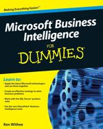 Microsoft Business Intelligence For Dummies - Ken Withee