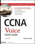 CCNA Voice Study Guide (640-460), With CD :  Exam 640-460 - Andrew Froehlich