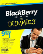 BlackBerry All-In-One For Dummies : For Dummies (Lifestyles Paperback) - Dante Sarigumba
