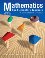 Mathematics for Elementary Teachers : A Contemporary Approach - Gary L Musser
