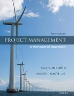 Project Management : A Managerial Approach - Jack R Meredith