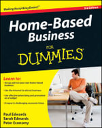 Home-Based Business For Dummies , 3rd Edition : For Dummies (Lifestyles Paperback) - Paul Edwards