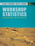 Workshop Statistics : Discovery with Data - Allan J. Rossman
