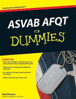 ASVAB AFQT For Dummies - Rod Powers