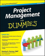 Project Management For Dummies, 3rd Edition - Stanley E. Portny