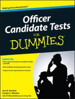 Officer Candidate Tests For Dummies : For Dummies - Jane R. Burstein