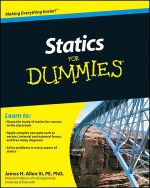 Statics For Dummies - James H Allen
