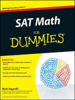 SAT Math For Dummies - Mark Zegarelli