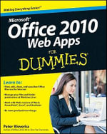Office 2010 Web Apps For Dummies - Peter Weverka