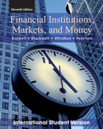Financial Institutions, Markets, and Money - David S. Kidwell