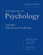 Handbook of Psychology : Educational Psychology - Irving B. Weiner