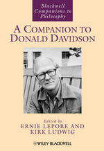 A Companion to Donald Davidson : Volume 4
