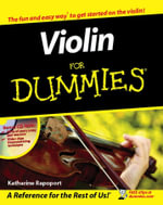 Violin For Dummies - Katharine Rapoport