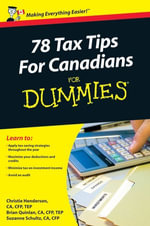 78 Tax Tips For Canadians For Dummies - Christie Henderson