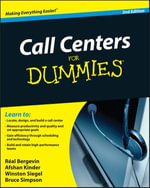 Call Centers For Dummies - Real Bergevin
