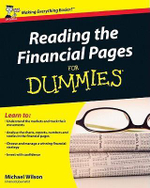 Reading The Financial Pages For Dummies - Michael Wilson