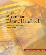Style Manual Pack : Includes Australian Editing Handbook 2E - Dcita