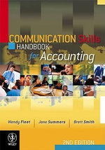 Communication Skills Handbook for Accounting - Wendy Fleet