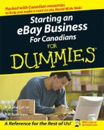 Starting an eBay Business for Canadians for Dummies : For Dummies (Computers) - Marsha Collier