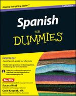 Spanish For Dummies, 2nd Edition : 2nd Edition with CD - Susana Wald