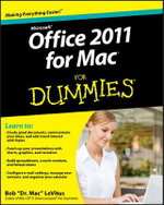 Office 2011 for Mac For Dummies : For Dummies (Lifestyles Paperback) - Bob LeVitus