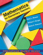 Mathematics for Elementary Teachers : A Contemporary Approach - Gary L. Musser