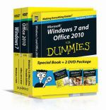 Windows 7 and Office 2010 For Dummies : Book + DVD Bundle - Andy Rathbone