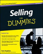 Selling for Dummies : 3rd Edition - Tom Hopkins