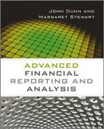 Advanced Financial Reporting and Analysis - John Dunn