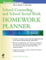School Counseling and School Social Work Homework Planner : PracticePlanners - Sarah Edison Knapp