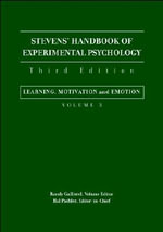 Stevens' Handbook of Experimental Psychology : Learning, Motivation and Emotion v.3 - Stanley S. Stevens